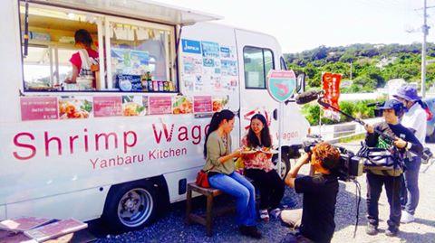 沖縄 古宇利島 Shrimp Wagon